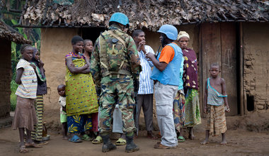 Note to the media : Two UN experts are reported missing in the DR Congo
