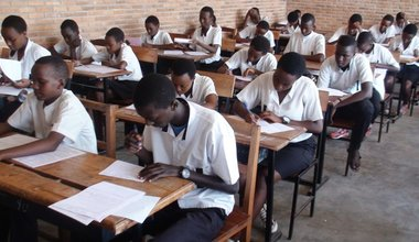 MONUSCO supports the delivery of state examination materials in Kasai Central.