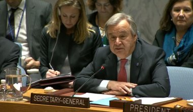 The United Nations Secretary-General's Remarks to the Security Council Thematic Debate on the Peacekeeping Operations Review