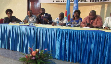 Commemoration of 15th anniversary of Radio Okapi in Goma