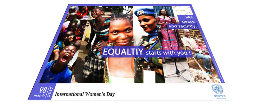 International Women's Day celebrated by MONUSCO